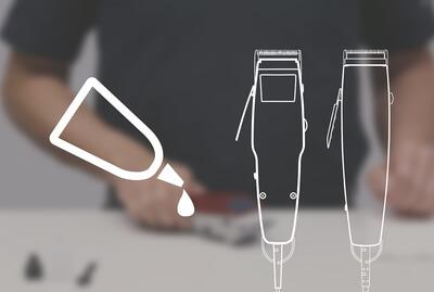 Nettoyage de la tête de coupe de ta MOSER 1400