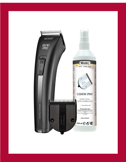 Genio Pro Fading, Diamond blade et spray nettoyant.